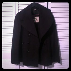 Burberry double breasted peacoat Size 4
